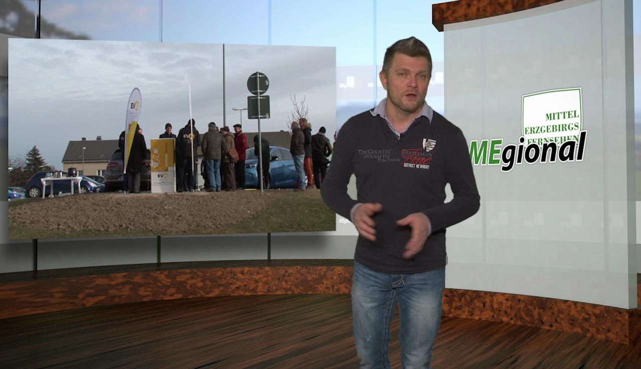 Energietankstelle in Marienberg in Betrieb genommen